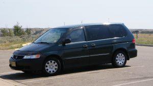 Které auto vydrží nejdéle - Honda Odyssey 2000
