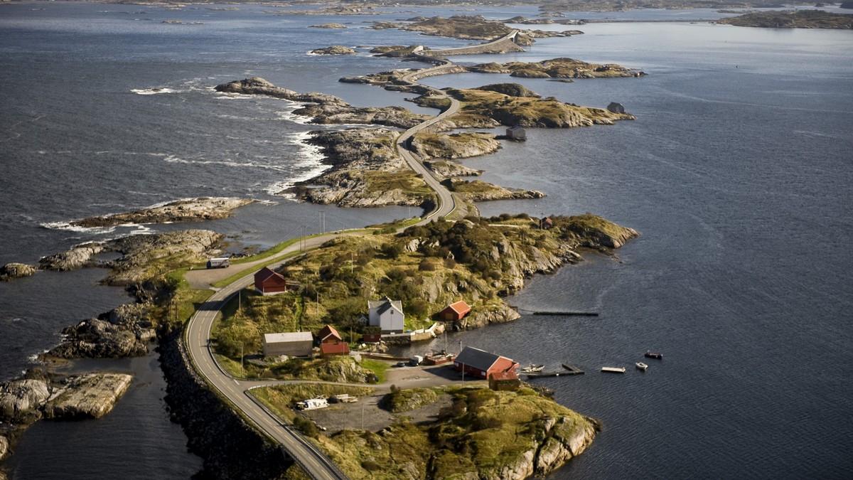 Atlantic Ocean road - nejšílenější silnice světa