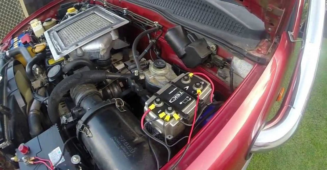 Jak oživit baterii auta