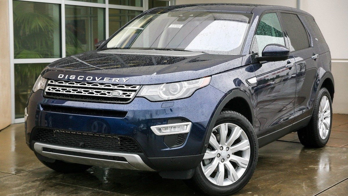 Luxusní auto - Land Rover Discovery