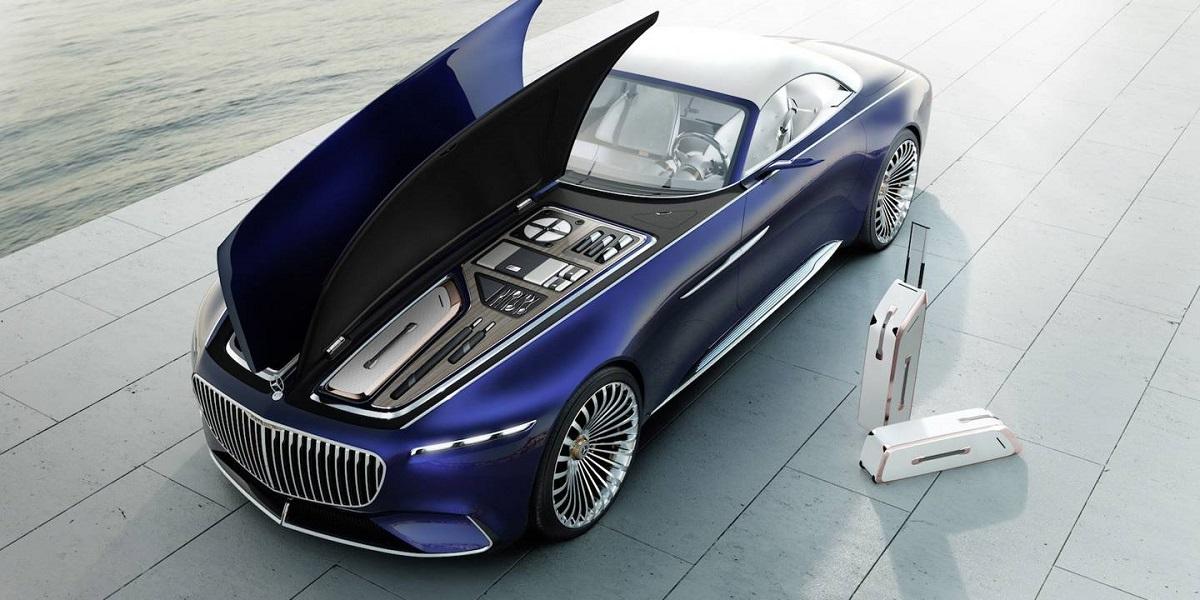 Mercedes-Benz Maybach 6 Cabriolet - kufr