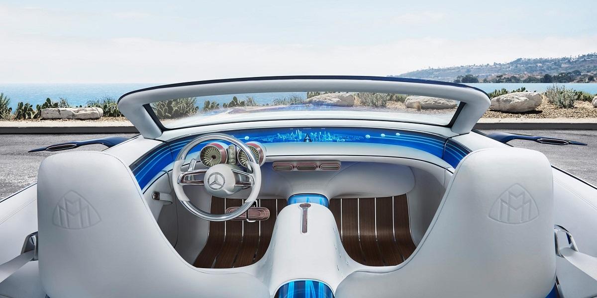 Mercedes-Benz Maybach 6 Cabriolet - palubní deska
