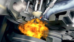 Naftový motor