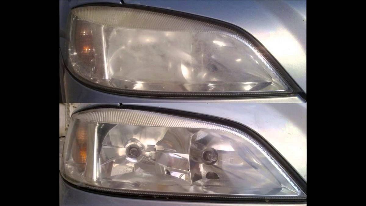 Rozdíl mezi zašlými a čistými světlomety