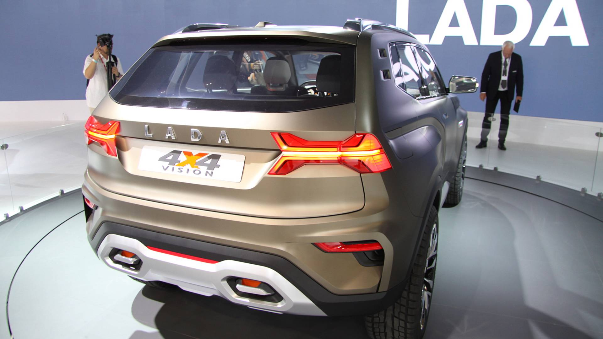 Lada Niva druhé generace 2018