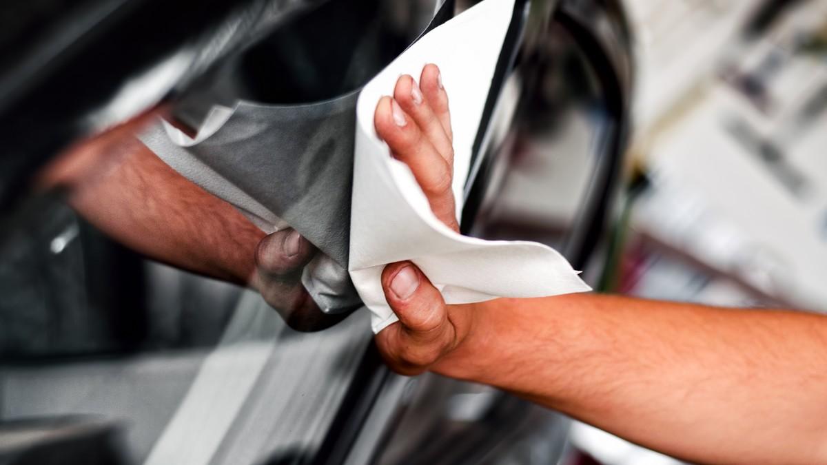 Leštící vosk na auto