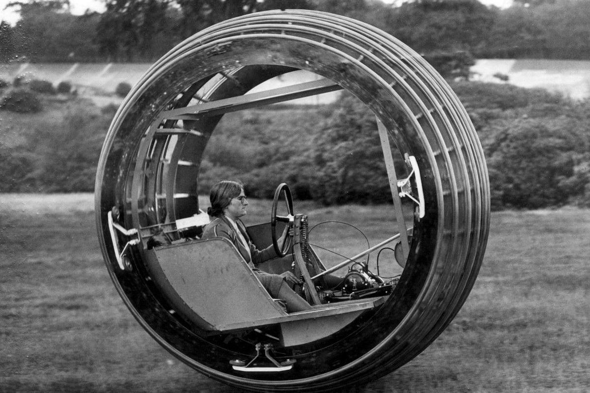 Dynasphere 1932 - auto jako obří pneumatika