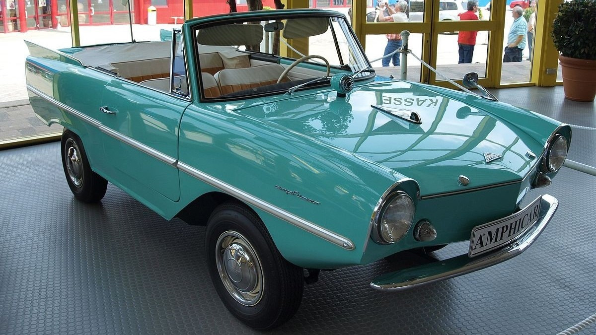 Amphicar - auto do vody
