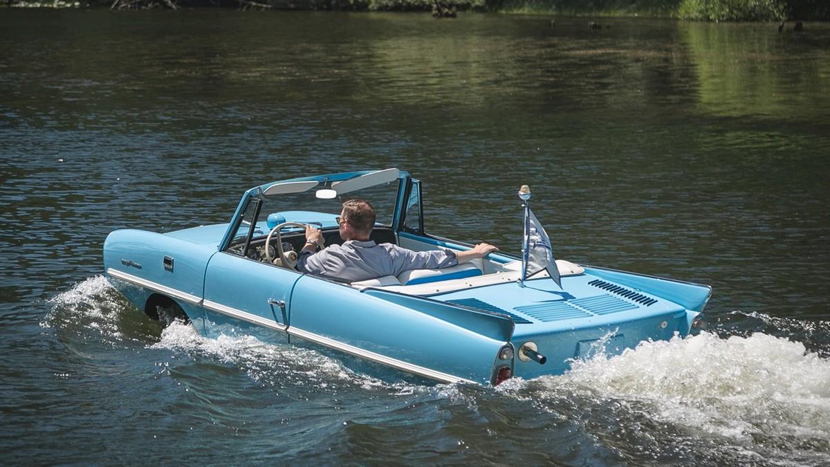 Amphicar - autoloď