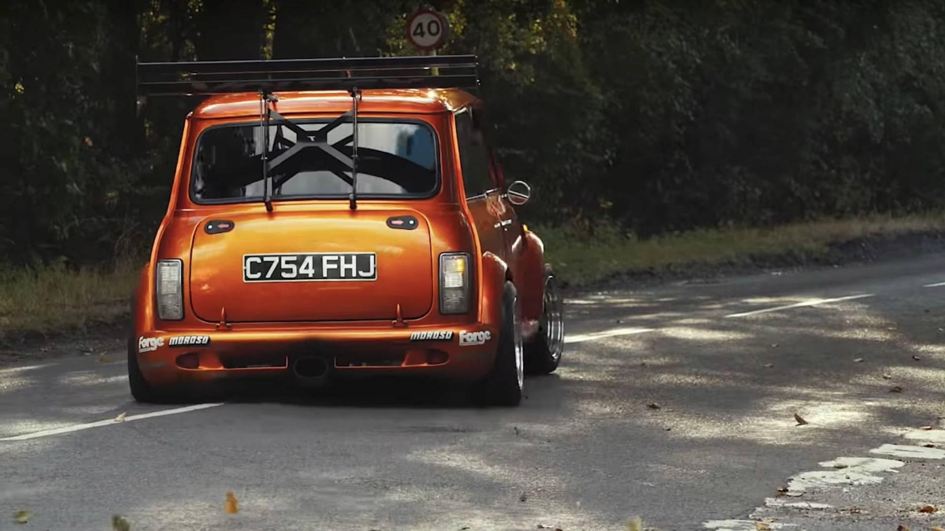 Auto Mr. Beana - motor 265 kw