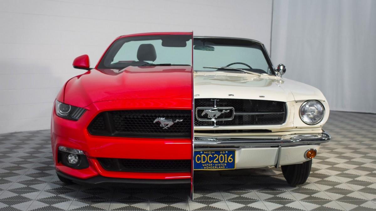 Ford Mustang - dříve a dnes