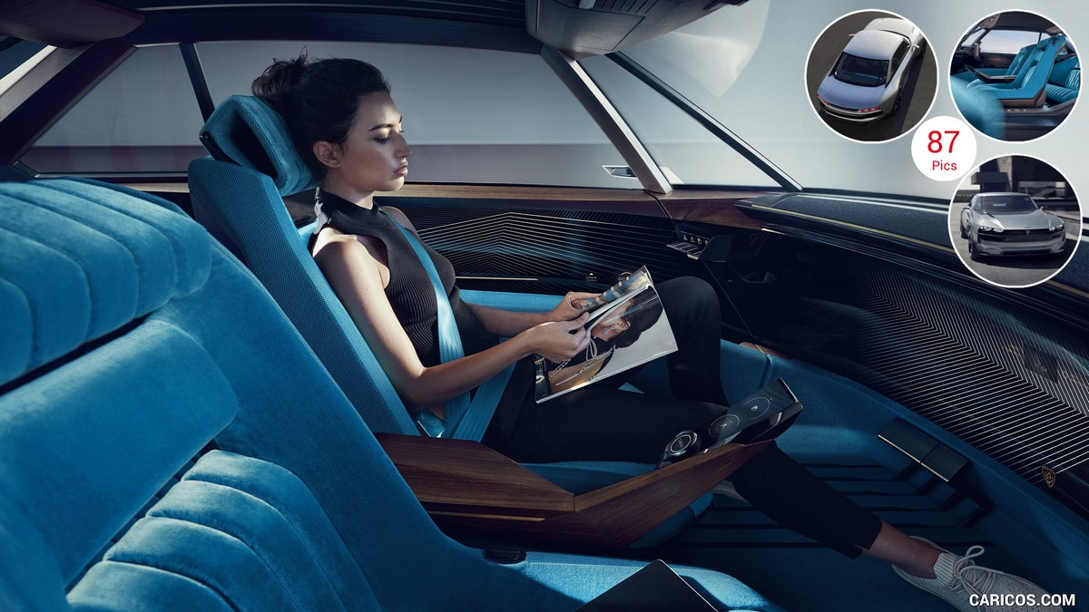 Peugeot e-Legend - řízení