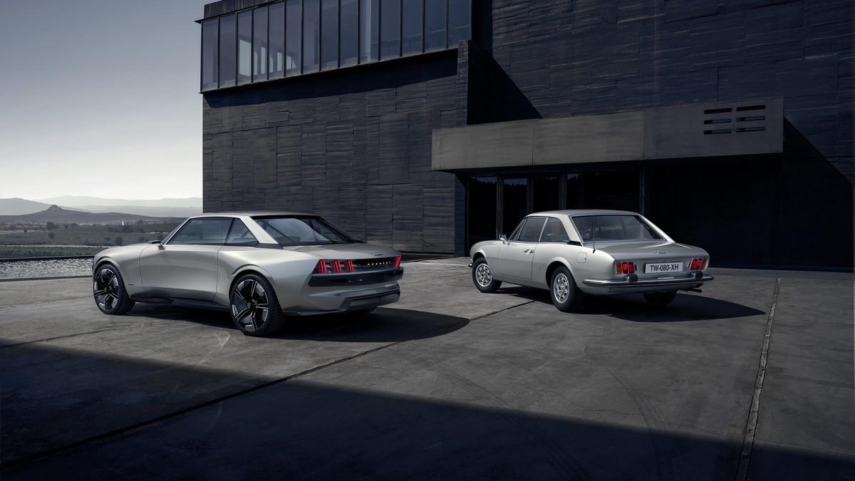 Peugeot e-Legend - cena