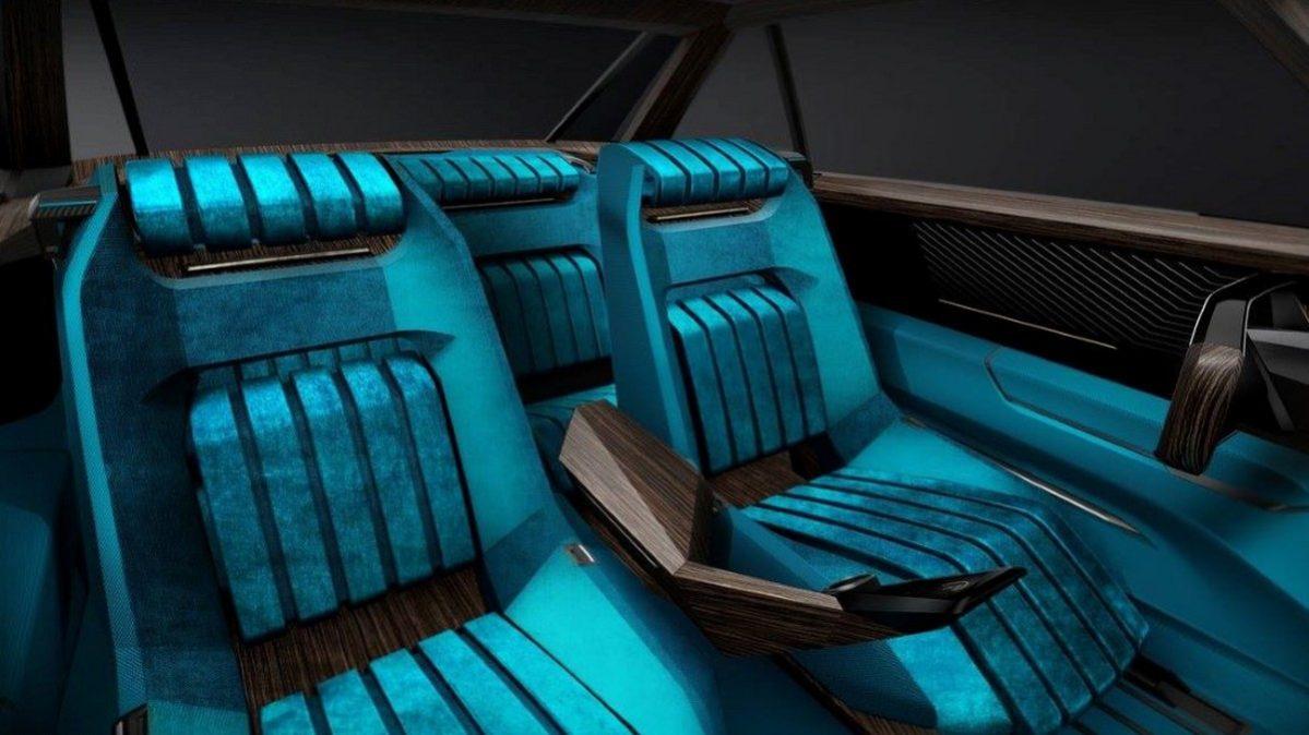 Peugeot e-Legend - interiér