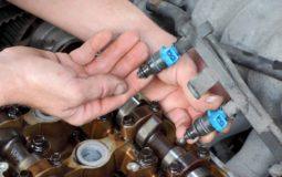 Zanešené vstřikovače - chemické čištění