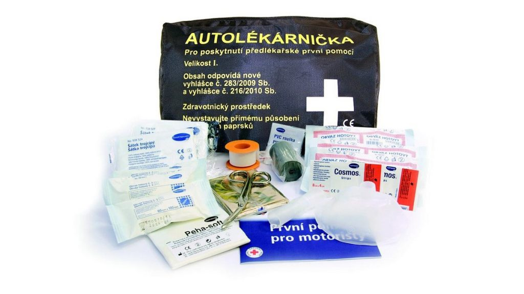 Povinná výbava - autolékárnička